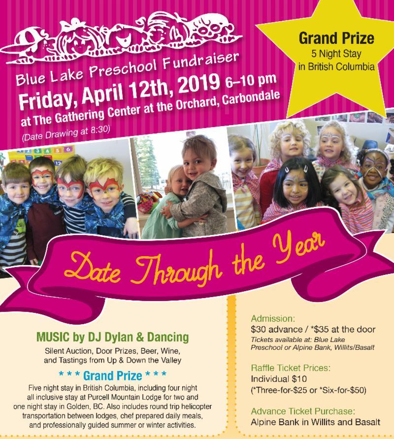 BlueLake fundraiser 2019