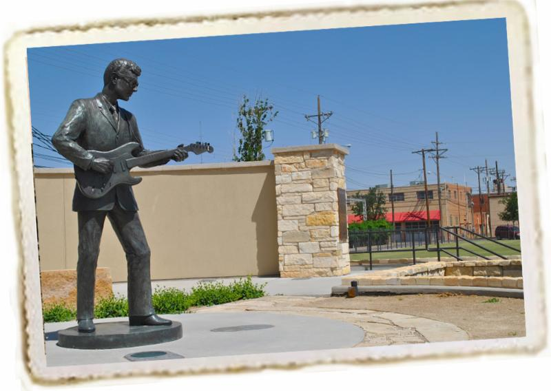 Buddy Holly statue_ Lubbock