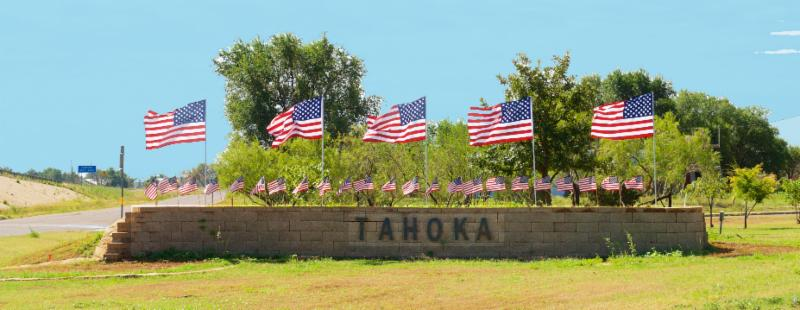 Tahoka welcome