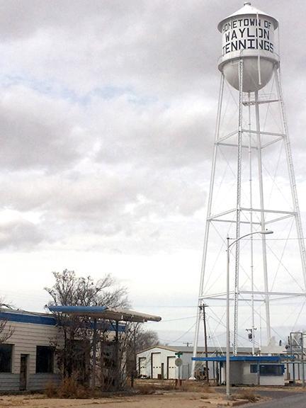 Water tower_ Littlefield