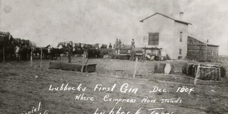 Lubbock_s first cotton gin_ 1904 _from KCBD.com_