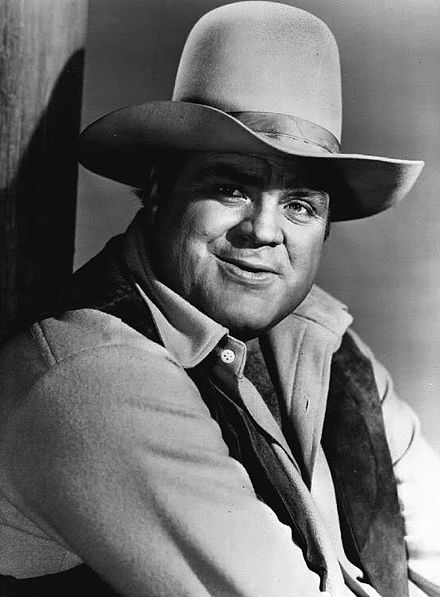 Dan Blocker as Hoss Carwright on _Bonanza_