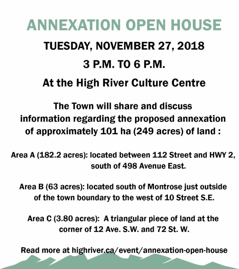Annexation Open House
