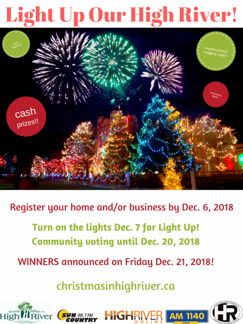 Light Up Our High River Contest
