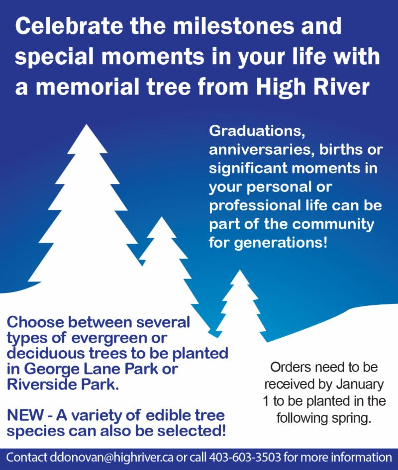 Purchase a Memorial Tree