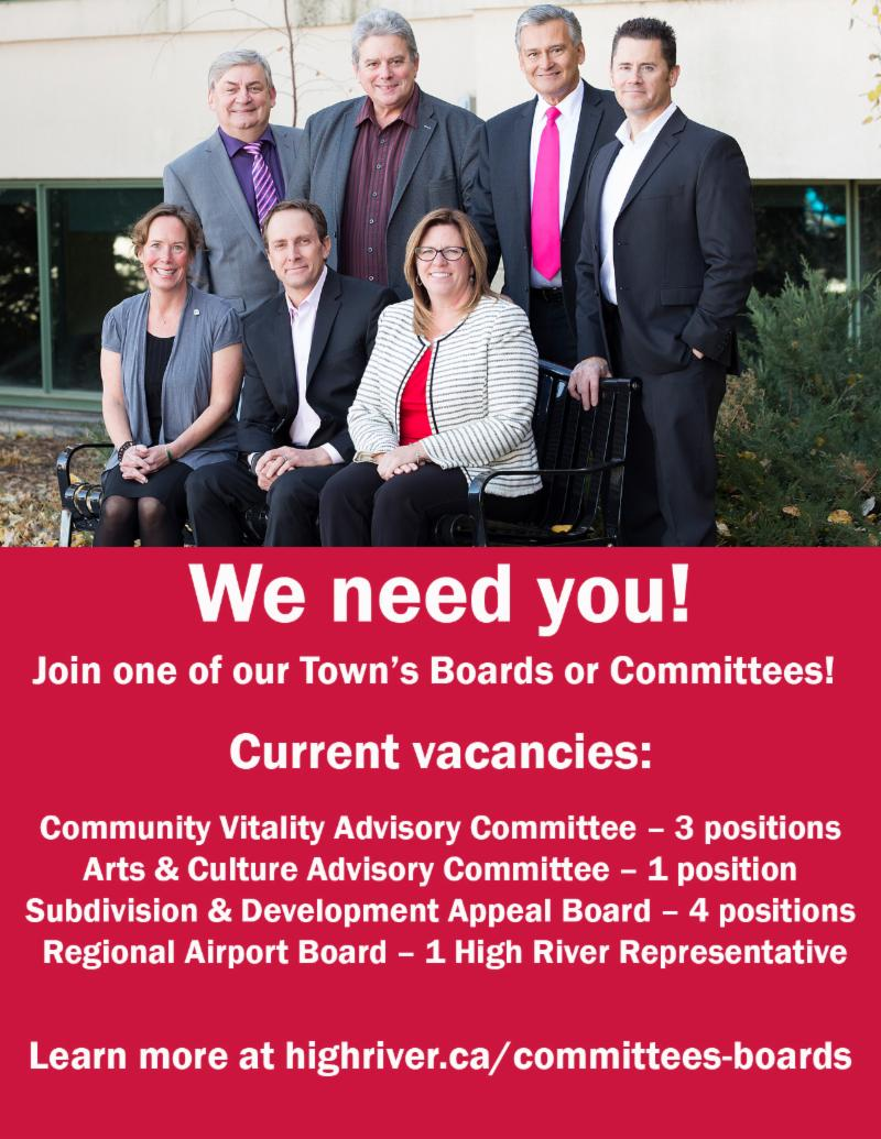 Join a Town Board or Committee