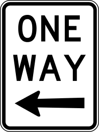 One Way Sign2