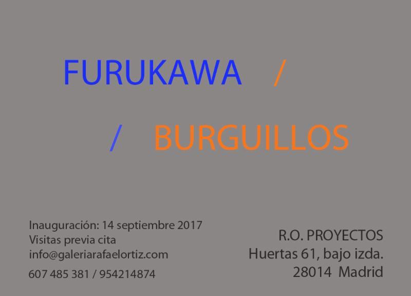 Yoshishige Furukawa and Jaime Burguillos at Rafael Ortiz Proyectos in Madrid