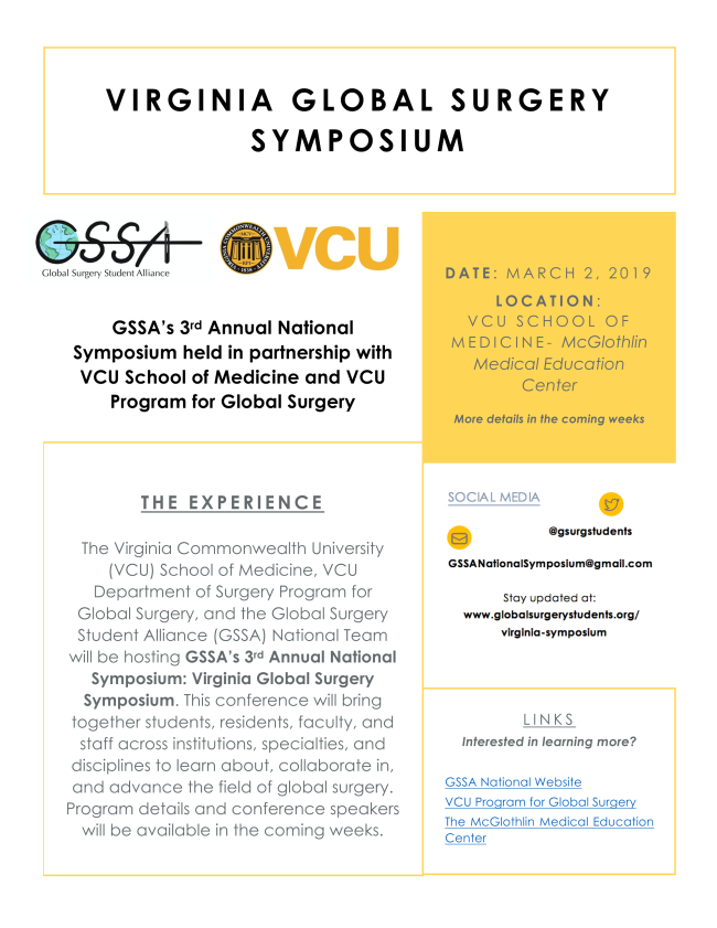 VCU Surgery Newsletter, January 2019
