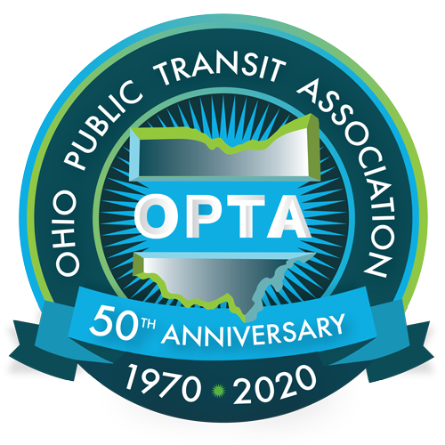 OPTA 50th Anniversary Logo