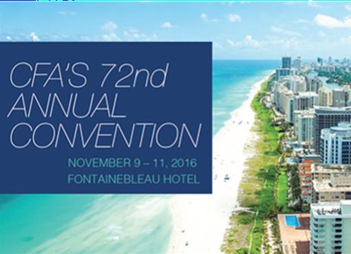 CFA's 72nd Annual Convention