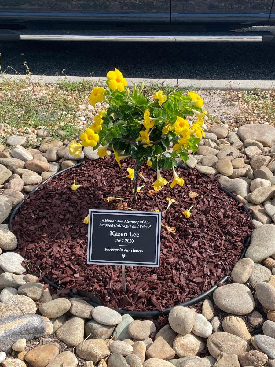 Fortress Solutions Karen Memorial Flower