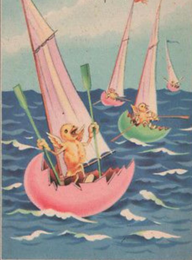 Easter Egg Boats