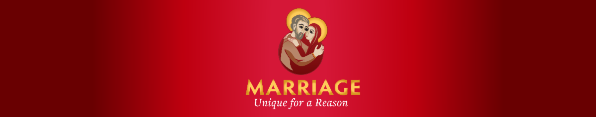 Marriage Unique for a Reason banner