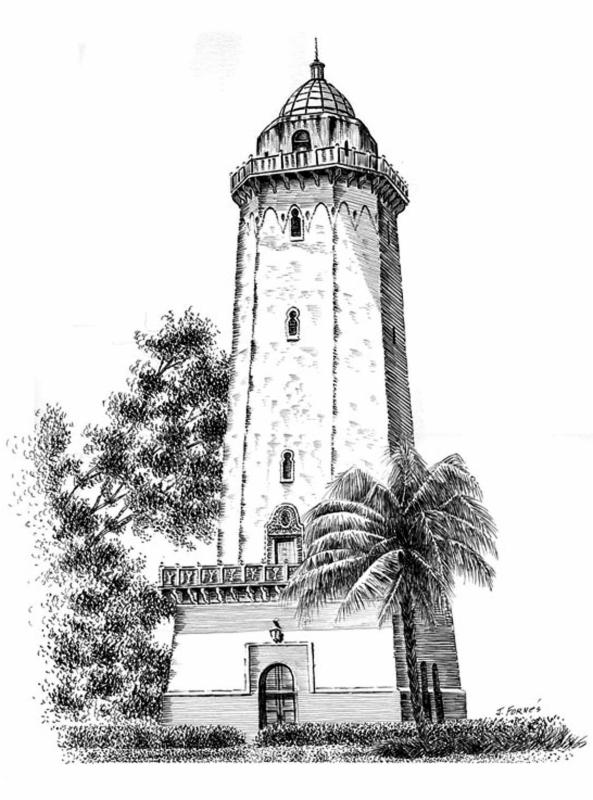 Alhambra Water Tower