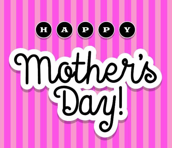 Feliz dia de madres