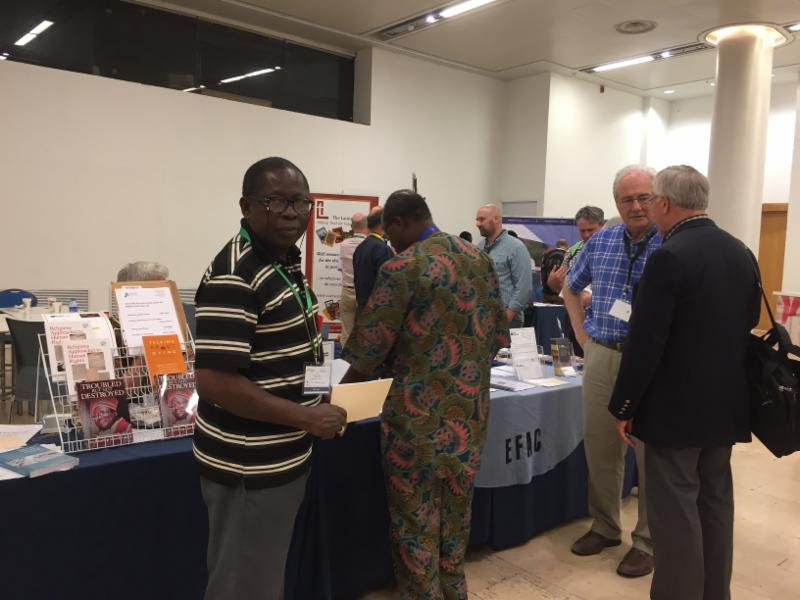 EFAC table at GAFCON