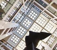 Hart Building atrium US Senate