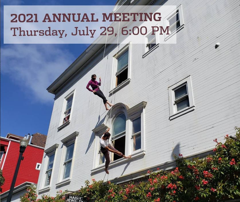 2021 Annual Meeting Thursday July 29, 6:00 PM