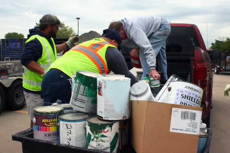 clean sweep paint public works