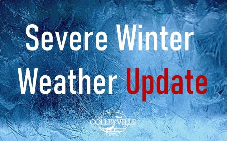 severe winter weather update