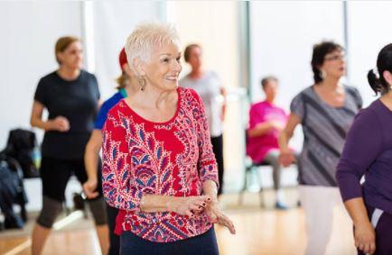 senior line dancing parks