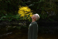 Photo of Andy Goldsworthy courtesy Magnolia Pictures