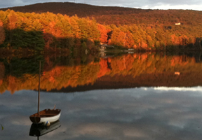 Photo of Cunningham Pond by Judy Blake