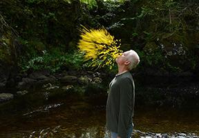 Photo of Andy Goldsworthy courtesy of Magnolia Pictures