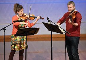 Photo of musicians by Sam Reinke