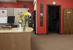 Photo of office by Katrina Farmer