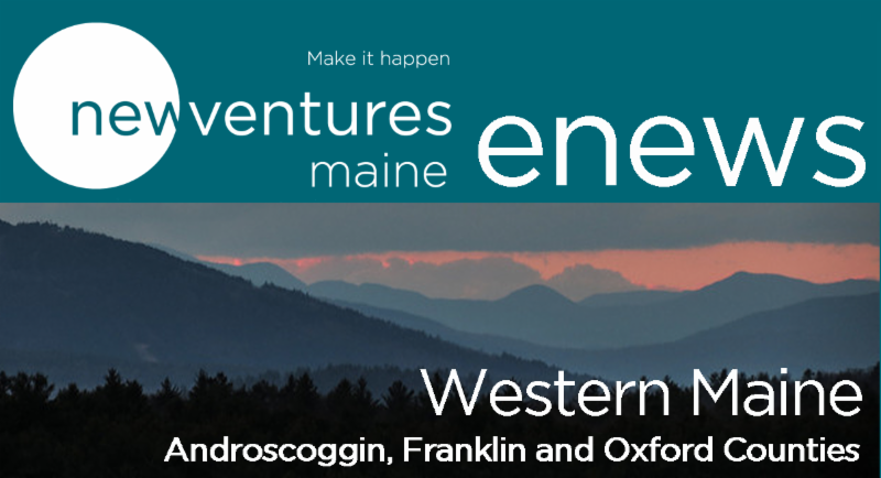 BannerNVME Logo plus enews for Western Region (Androscoggin, Franklin and Oxford counties)