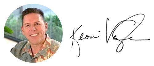 Keoni Vaugh Photo and Signature
