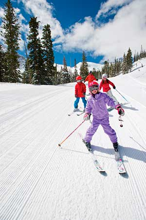 Skiing in Snowbird_ Utah