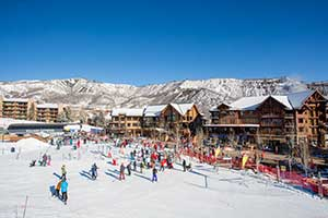 Snowmass Village base camp