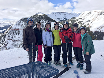 VOS 2018 conference attendees in Snowmass Village_ Colorado