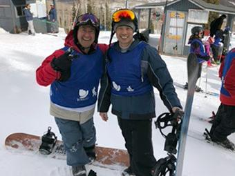 VOS 2018 ski race participants