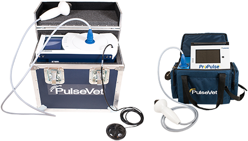 PulseVet_s VersaTron and ProPulse shock wave therapy systems