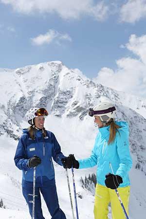 Skiers at Snowbird Ski and Summer Resort