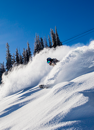 Snowmass snowboarder