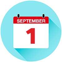 September 1 graphic
