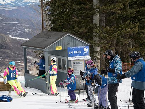 VOS 2018 ski race