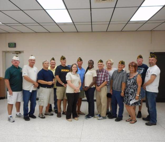 e Decatur VFW Post 6248 and its auxiliaries and the American Legion Post 309 and its auxiliary presented checks totaling $2,250 to Buddy-to-Buddy