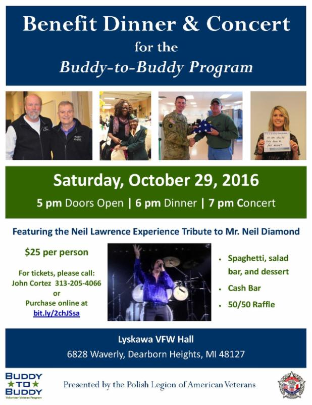 Oct. 29th Benefit Dinner & Concert
