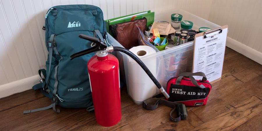 Emergency kit for natural disaster preparedness