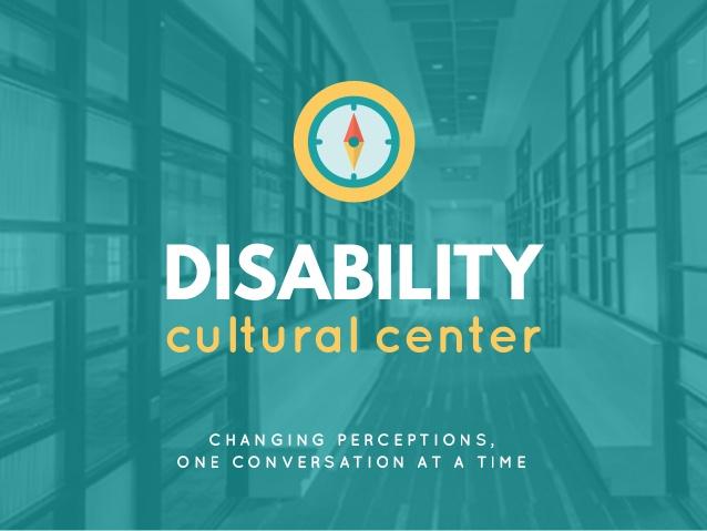 Disability Cultural Center flyer