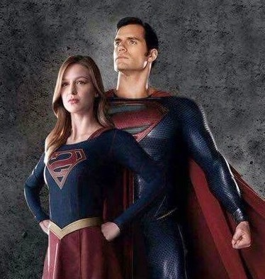 picture of Superman and Supergirl