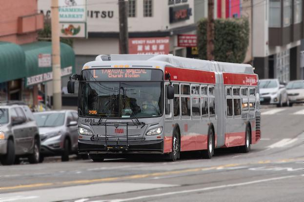 picture of a muni bus