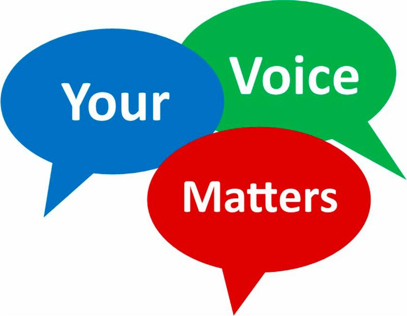 words your voice matters