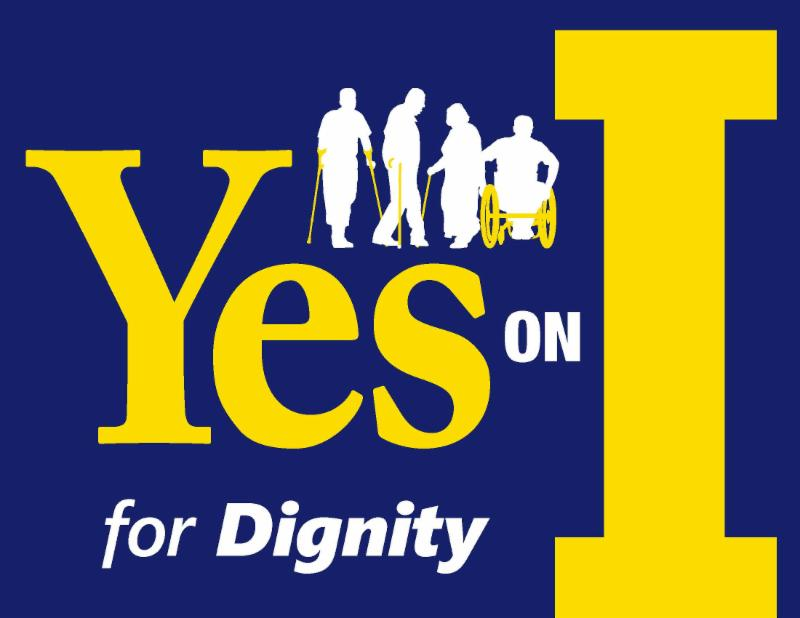 logo for yes on I